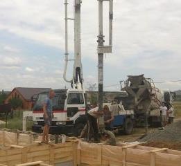 2017 февраль - май аренда Шахты бетононасос