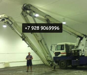 Ускорьте заливку бетона в 1,8 раз с помощью услуги бетононасоса по Шахтам